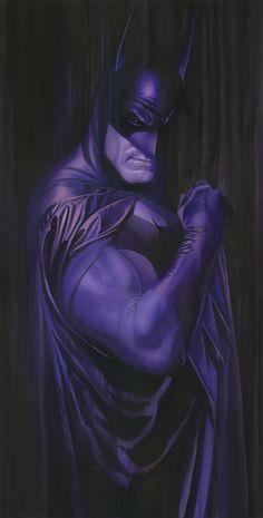 Shadows: Batman Signed by Alex Ross - Artinsights Film Art Gallery