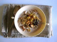 quinoa breakfast pilaf with cardamom and vanilla