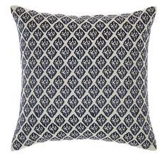 Embellish your interior style with tribal-rich design with the soft embroidery of the Artois Cushion Cover from Marie Claire.