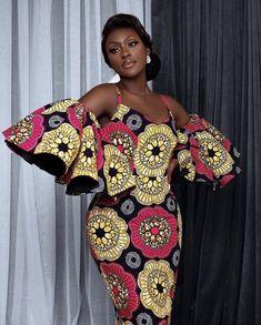 African Print Dress Designs, African Print Dresses, African Dresses For Women, African Attire, African Outfits, Modern African Dresses, African Women, African Fashion Ankara, African Inspired Fashion