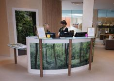 Chittleburgh Joinery Manufacturers of bespoke joinery for Guildford, Surrey, Hampshire, Sussex and London. Spa Reception, Surrey, Joinery, Bespoke, Commercial, Desk, Health, Furniture, Home Decor