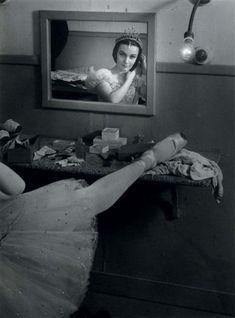 Ludmilla Tcherina, Théâtre Sarah Bernhardt, 1945. Photo by Brassaï.