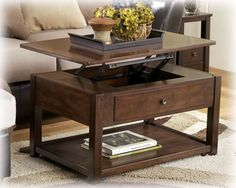 The coffee table that made me realize I actually want a coffee table