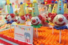 Circus/Carnival Birthday Party Ideas | Photo 1 of 21