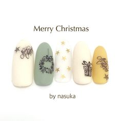 Christmas nails winter nails - http://amzn.to/2iZnRSz