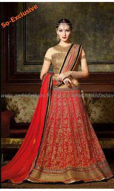 #Designer #Lehenga Kaviya Rouge #SoExclusive 165€ taille 34 à 44 #Sari #Robe #Indienne #Mariage #Wedding