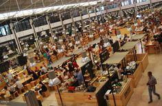 Mercado da Ribeira is Lisbon's main food market since 1892