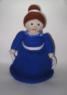 Doll tea cozy Doll teapot cozy. Doll for от handmadetoysrus