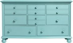 Cindy Crawford Home Seaside Blue Green Triple Dresser . $599.99. 60W x 20D x 36H. Find affordable Dressers for your home that will complement the rest of your furniture.