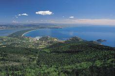 Argentario, between land and sea. #maremma #tuscany #mare #sea #beach