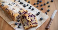 Perfectly Sweet, You Know We'll Be Helping Ourselves To Seconds Of This Blueberry Loaf Cake!