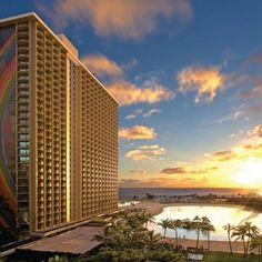 The Hilton Hawaiian Village