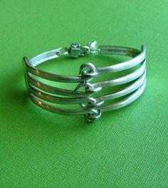 Fork Bracelet with double forks