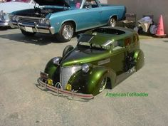 Wow! Pedal car AWESOME