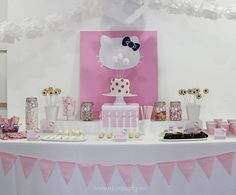 Nice Party mesa de dulces Hello Kitty (3)