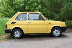 Fiat 126p NP Fiat 500, Vintage Cars, Cool Cars, Van, Trucks, Bike, Vehicles, Lego, Wheels