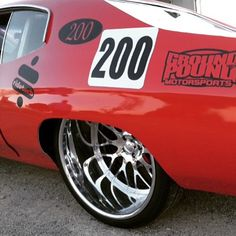 Rev Limit Customs @rev_limit_customs 70 chevelle intro billet wheels 24x15 tubbed ridetech wilwood tucked mesh