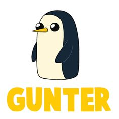 Gunter is a penguin from Adventure Time...he is actually one (or many) of the Ice King's servants. Either way, he is just adorable and I'm sure you would want to learn how to draw him. He is pretty easy draw and if you follow this tutorial, you'll be able to draw him to.