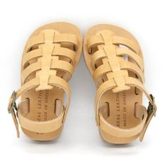 5382f8a1c Items similar to Boys leather sandals. girls gladiator sandals