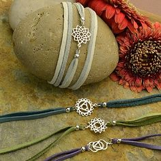 silver jewelry components, gemstone beads, leather for jewelry, and jewelry making supplies are popular with designers at Nina Designs
