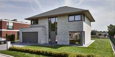 Modern Houses, Facade, Homes, Mansions, House Styles, Garden, Ideas, Home Decor, Future House