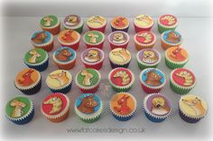 Hand painted Gruffalo cupcakes Gruffalo Party, Personalized Cakes, Gift Cake, Thank You Gifts, Mini Cupcakes, It's Your Birthday, Party Time, Tea Party, Party Favors