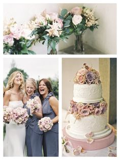 Don't love the roses or the cake, but I do like the soft blues and pinks.