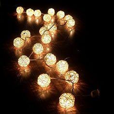CITY en rotin LED Ball String s'allume pendant mariage Christmas Party Decoration guirlandes, http://www.amazon.fr/dp/B0107UD5QS/ref=cm_sw_r_pi_awdl_mCB2vb0NBQ2KQ