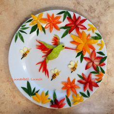 Hummingbird Fun Food Lunch Sarah Gonzalez @lunarbell_lunch