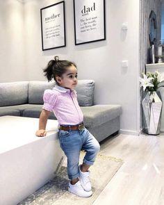 🌺🌺💗make top onesie Cute Little Girls Outfits, Kids Outfits Girls, Toddler Girl Outfits, Baby Outfits, Cute Kids Fashion, Little Girl Fashion, Toddler Fashion, Kids Dress Wear, Dresses Kids Girl