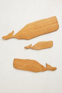Whale Cutting Board   #anthropologie