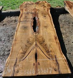 This is a bookmatched set of Black Walnut slabs that we personally salvaged in West Sacramento, Ca and milled February Since it was a dead tree th. West Sacramento, Walnut Slab, Wood Grain, Hardwood, Tables, Cabinet, Furniture, Black, Mesas