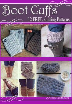 Boot cuffs free knitting patterns                                                                                                                                                                                 More