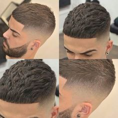 Antenados na moda: Cortes masculinos para 2018 / 2019 Take a look at some cool Visit Our Site for more Cool Content for and Short Fade Haircut, Crop Haircut, Short Hair Cuts, Haircut Men, Barber Haircuts, Haircuts For Men, Hair And Beard Styles, Curly Hair Styles, Hair Barber