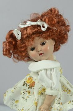 """STRAWBERRY BLONDE DOLL WIG SIZE 8//9"""" FITS VINTAGE AND MODERN DOLLS"""