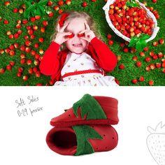 "🍓 NEW CORFOOT 🍓 Φράουλες από τον CORFOOTκήπο μας, μαζεμένες με το χέρι και σχεδιασμένες ειδικά για τους ☀️ καλοκαιρινούς μήνες ☀️. Αυτές οι φραουλίτσες είναι ότι καλύτερο για τα μικρά πατουσάκια! Είναι πραγματικά και κυριολετικά για ""φάγωμα"" στο www.corfoot.gr/product/strawberry 🍓 Ιδανικά και για τους καλοκαιρινούς μήνες 🍓 με μαλακή, αντιολισθητική σόλα 🍓 φοριούνται εύκολα και δε φεύγουν απ' το πόδια 🍓 100% χωρίς χρώμιο 🍓 100% πιστοποιημένο δέρμα Nappa 🍓 χειροποίητα από την Κέρκυρα 🍓 χω Leather Shoes, Kids Rugs, Handmade, Decor, Leather Dress Shoes, Leather Boots, Hand Made, Decoration, Kid Friendly Rugs"