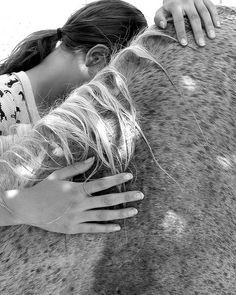 Photo by Sada Crawford #horses #barn life #hands #girls and horses #freckles