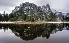 Lataa kuva vuoret, metsä, mountain lake, mountain maisema, USA, Yosemite Valley, California