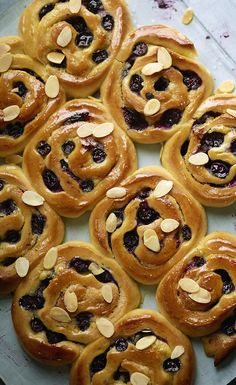 Try our vanilla and blueberry buns recipe - it's a fresh take on the classic Swedish cinnamon bun.