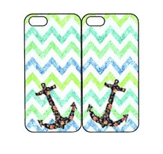 Bright Glitter Green Chevron,Anchor for Samsung S4 mini,Samsung note3 case,iPhone 4 Case,iPhone 5C Case,iPod 5 case,Any two case can match