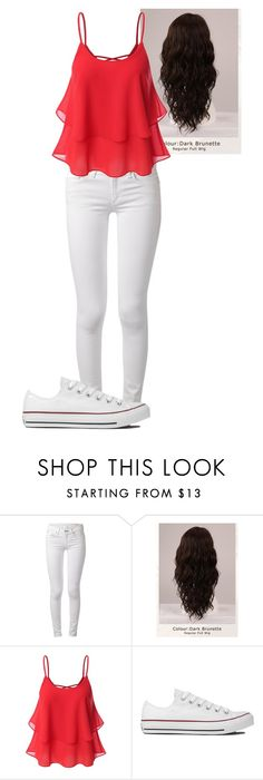 """""""Untitled #65"""" by mayaforever3 ❤ liked on Polyvore featuring rag & bone, WigYouUp and Converse"""