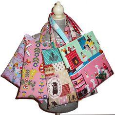 Children tote bags from Kokka fabrics