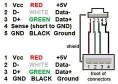 making mini usb to otg type usb diagram google search electronic rh pinterest com Basic Electrical Wiring Diagrams Basic Electrical Wiring Diagrams