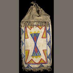 sioux parefleche | Bonhams Auctioneers : A Sioux parfleche case