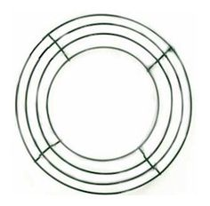 """supplies- Wire Wreath Frames 10in 