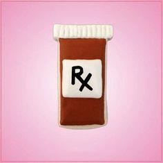 Pill Bottle Cookie Cutter