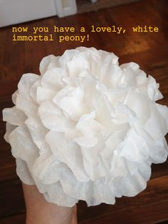 Tutorial: Coffee filter flowers. I must make these at my school in the spring!