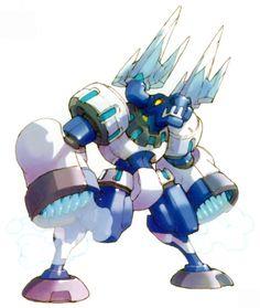 Mega Man Zero - Blizzack Staggroff