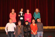 Photos au théâtre quelques semaines avant la représentation...