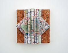 Missouri Map Sculpture by yinsteadofi on Etsy